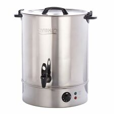 Burco Cygnet Large 30 Litre Catering Hot Water Boiler Tea Urn - Stainless Steel