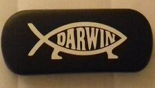 ATHIEST DARWIN FISH ANTI RELIGIOUS FISH brand new metal glasses case great gift!