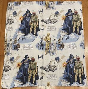 Pottery Barn Kids Star Wars 'Empire Strikes Back' Flat Sheet Full size FREE SHIP