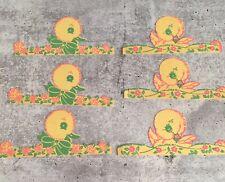 Antique Vintage Easter Egg Animal Character Chick Paper EGG Cover Decoration NOS