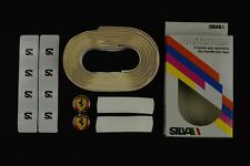 NOS Silva handlebar tape nastro manubrio Colnago Ferrari plug vintage Lenkerband