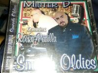 MISTER D & ROCKY PADILLA - Smooth Oldies - CD - NEW RARE CHICANO RAP