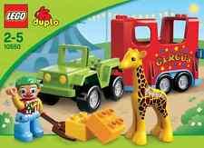 LEGO Duplo - 10550 Zirkustransporter mit Clown und Giraffe - Neu & OVP