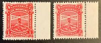 New Zealand. Life Insurance. SG L25+L31. 1913. With Tabs. MNH. #AF102