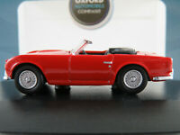 Oxford 76TR4001 Triumph TR4 Roadster (1961-1965) in signal red 1:76 NEU/OVP
