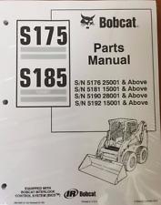Bobcat S175 S185 Skid Steer Parts Catalog Manual 6901856 Amp Service Manual