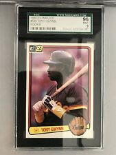 1983 DONRUSS TONY GWYNN ROOKIE CARD PADRES #598--SGC 96=MINT CONDITION!!!