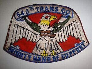 États-Unis 540th Transport Compagnie Mighty Main De Support Vietnam Guerre Pièce