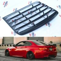 BMW E92 M3 Rear Window Louver Spoiler Coupe 3Series Sun Shade Cover ABS plastic