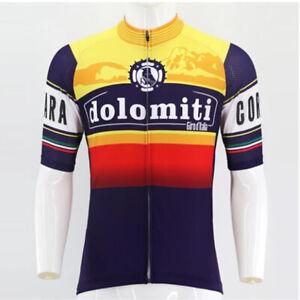 Retro dolmiti giro italia Cycling Jersey MTB Cycling Jersey Short Sleeve