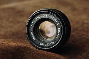 HELIOS 44M-6  2/58mm Lens USSR M42 Fixed/Prime For Canon Nikon Pentax