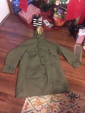 VINTAGE M-1947 M47 US ARMY WINTER OVERCOAT PARKA JACKET W/ MATCHING PILE LINER