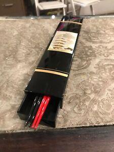 Vintage Black Lacquer Chopstick box Set
