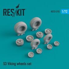Reskit 1/72 Lockheed S-3 Viking Wheels set for Hasegawa kits