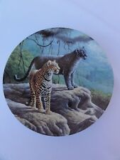"""Knowles """" The Jaguar """" Collector Plate"""