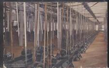 Postcard ROCK ISLAND Illinois/IL  Arsenal Small Arms Machine Shop Interior 1907