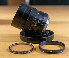 Leica Elmarit R 90mm 1:2 .8 nº 2442733 + UVA serie VII