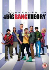 The Big Bang Theory: Seasons 1-9 DVD Box Set NEW