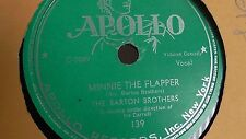 Jewish Yiddish 78rpm – The Barton Brothers– Apollo #139 Copy II