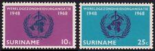 SURINAME 1968 2v complete set MNH @S4607