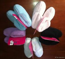 Charter Club Womens Plush Slipper Multi-Color Options Great Gift!!