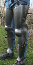 Full Leg Armor Set Halloween Reenactment Larp Armor Medieval Steel SCA Armou