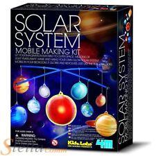 4M Kidz Labs Solar System Mobile Making Kit Educational Science Kit
