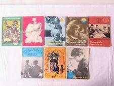 8 DDR Hefte Erziehungsratgeber Elternhaus und Schule 1971-1975