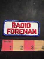 Vintage RADIO FORMAN Uniform Tab Patch C91M