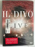 Il Divo - Live at the Greek (DVD, 2006) FreeUSAship New Sealed DVD