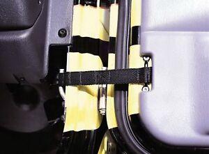 Rampage for 1976-1983 Jeep CJ5 Adjustable Door Strap - Black - for ram769401
