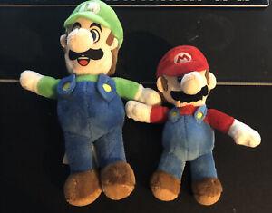 Mario and Luigi stuffed animal lot! Used!