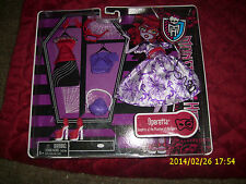 MONSTER HIGH OPERETTA  OUTFIT DAUGHTER OF THE PHANTOM OF THE OPERA