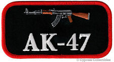 GUN PATCH AK-47 RIFLE 2nd AMENDMENT RIGHTS EMBROIDERED IRON-ON Kalashnikov NEW