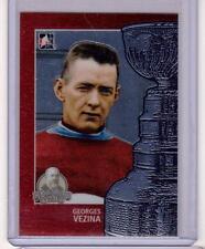 GEORGES VEZINA 13/14 ITG Lord Stanley's Mug #98 Premium Metallic Card Canadiens