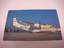 Binter Mediterraneo Airlines Post Card CASA CN-235-100 EC-012 France MJ1016