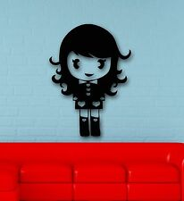 Wall Stickers Vinyl Decal Girl Anime Cartoon Oriental ig1667