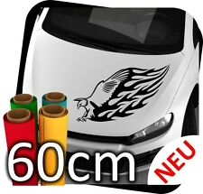 60cm Adler Tribal Animal Flames Tattoo Tunning Auto Eagle Sticker Aufkleber JDM