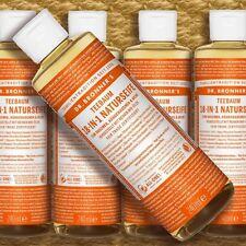 DR. Bronner 'S MAGIC soap Tea Tree 236 ML SAPONE LIQUIDO Naturkosmetik Fairtrade bio