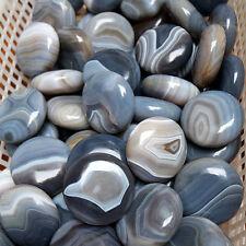 Wholesale !1X Natural Polished Brazil Blue Lace Agate Palm Pocket Healing Stone