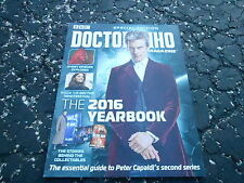 SPECIAL 2016 YEARBOOK #1 DOCTOR WHO magazine ( UNREAD)