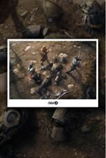 """Fallout 76 The Relic Lithograph 500 Made 24x16"""" Numbered  T-51 Armor Brand New"""