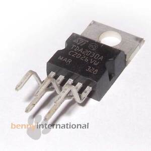 TDA2030A STM  AUDIO AMPLIFIER 18W IC HiFI 2030 Pentawatt V