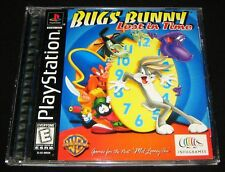 Bugs Bunny: Lost in Time (Sony PlayStation 1, PS1, 1999) Complete - Looney Tunes