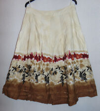 Together Floral A Line Skirt Waist 34 inches Size 16 Plus Size