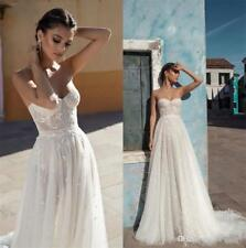 Berta Lace Garden Wedding Dresses A Line Sweetheart Neck Country Bridal Gowns