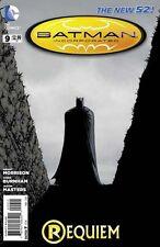 BATMAN INCORPORATED #9 DC NEW 52