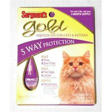 Sergeant S Pet Products Gold Sqz-on Cats Over 5 Lbs - 01062