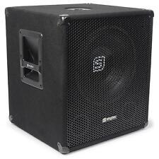 PA 46cm Subwoofer Aktiv Basslautsprecher BI AMP Amplifier 1000W RMS  Tragegriff