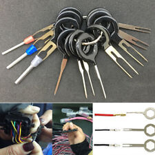 Car Removel Key Tools Kit 11Pcs Electrical Terminal Wiring Crimp Connector Pin